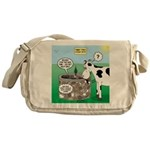 Timmys Cow Messenger Bag