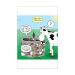Timmys Cow Mini Poster Print