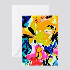 Pure Abstraction Greeting Cards