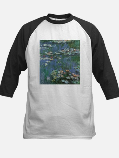 Waterlilies by Claude Monet Baseball Jersey