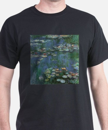 Waterlilies by Claude Monet T-Shirt