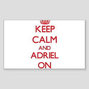 Keep Calm and Adriel ON Sticker