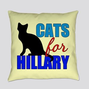 Cats for Hillary Everyday Pillow