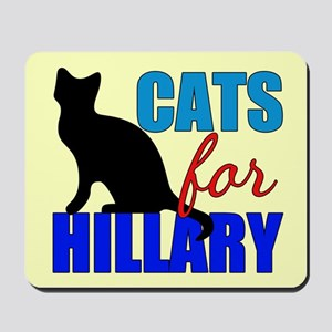 Cats for Hillary Mousepad