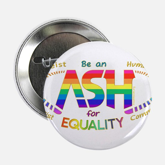 """Be an ASH (oval) 2.25"""" Button"""