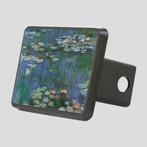 Waterlilies by Claude Mone Rectangular Hitch Cover