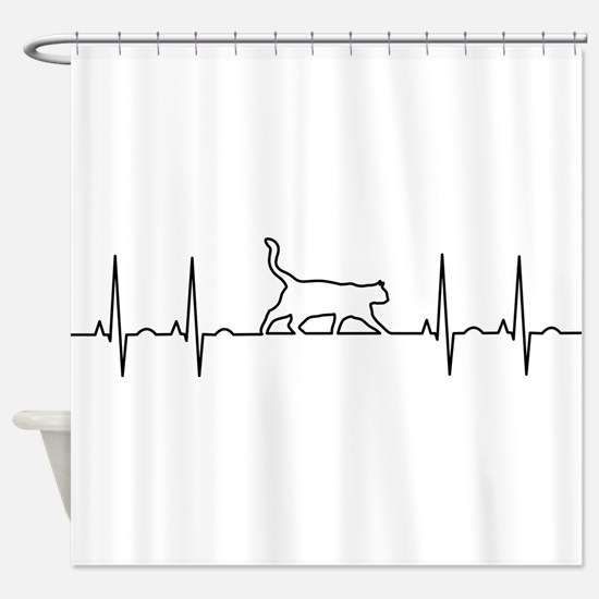 Cat Is Life Shower Curtain