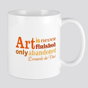 Unfinished Art Mugs