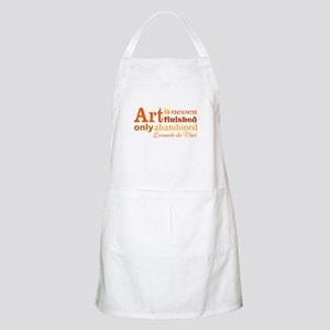 Unfinished Art Apron