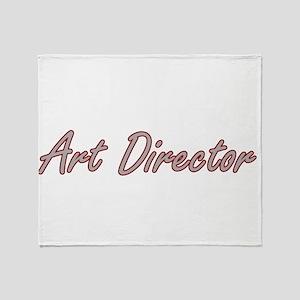 Art Director Artistic Job Design Throw Blanket
