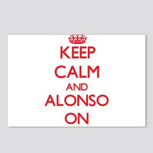 Keep Calm and Alonso ON Postcards (Package of 8)