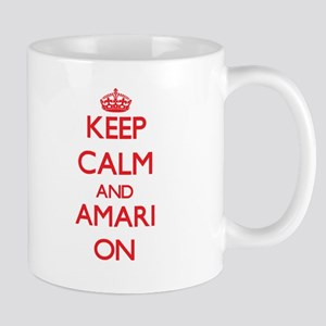 Keep Calm and Amari ON Mugs