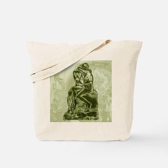 Rodin Kiss by Ina Mar Tote Bag
