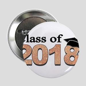 """Class of 2018 Glitter 2.25"""" Button (10 pack)"""