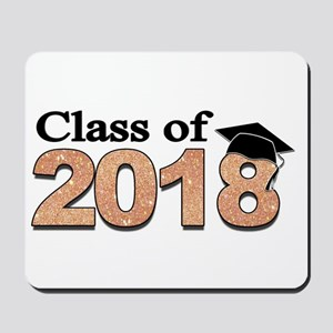 Class of 2018 Glitter Mousepad