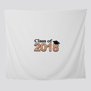 Class of 2018 Glitter Wall Tapestry