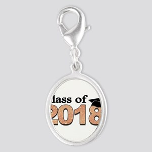 Class of 2018 Glitter Charms