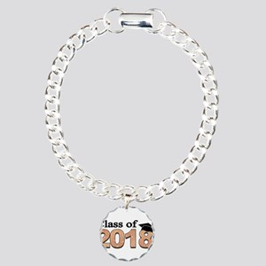 Class of 2018 Glitter Bracelet