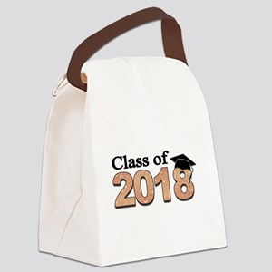 Class of 2018 Glitter Canvas Lunch Bag