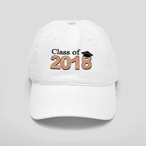 Class of 2018 Glitter Baseball Cap