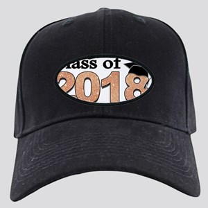 Class of 2018 Glitter Baseball Hat