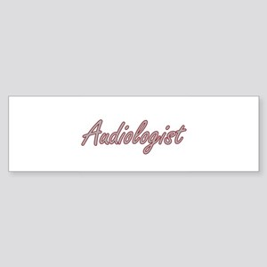Audiologist Artistic Job Design Bumper Sticker