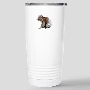 Aussie Koala Bear Cutou Stainless Steel Travel Mug