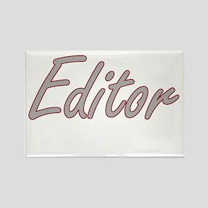 Editor Artistic Job Design Magnets