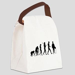 Accountant Evolution Canvas Lunch Bag