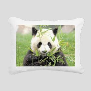 Giant panda Rectangular Canvas Pillow