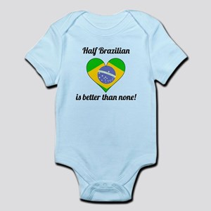 Half Brazilian Is Better Than None Body Suit