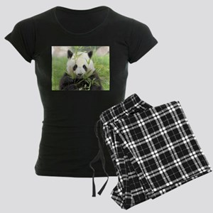 Giant panda Women's Dark Pajamas
