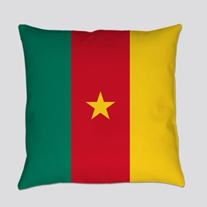 Flag of Cameroon Everyday Pillow