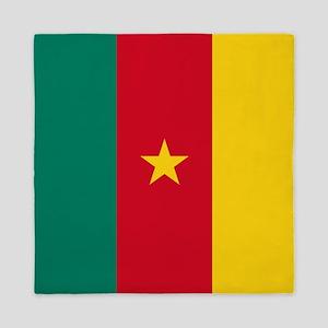 Flag of Cameroon Queen Duvet