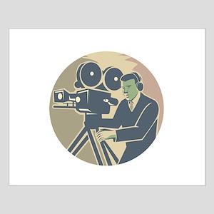 Cameraman Moviemaker Vintage Camera Retro Posters