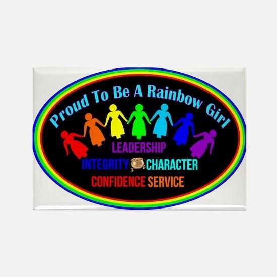 International Order Of The Rainbow Girls Magnets