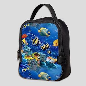 Tropical Fish Neoprene Lunch Bag