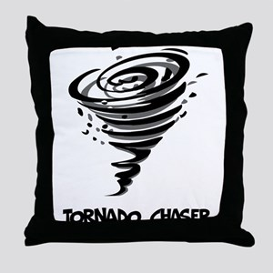Tornado Chaser Throw Pillow