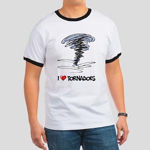 I Love Tornado Ringer T