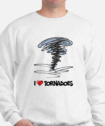I Love Tornado Sweatshirt