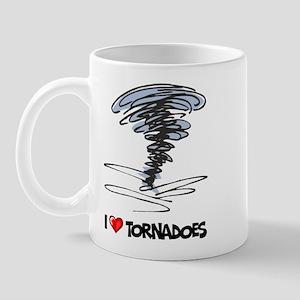 I Love Tornado Mug