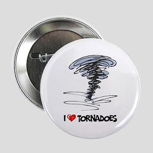 I Love Tornado Button