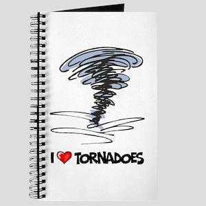 I Love Tornado Journal