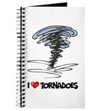 Tornadoes Journals & Spiral Notebooks