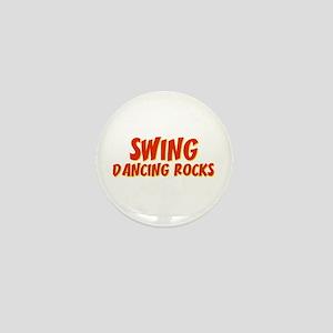 Swing Dancing Rocks Mini Button