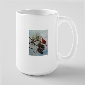 Christmas Cardinal Mugs