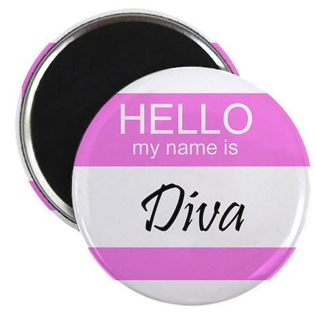 """Diva 2.25"""" Magnet (10 pack)"""