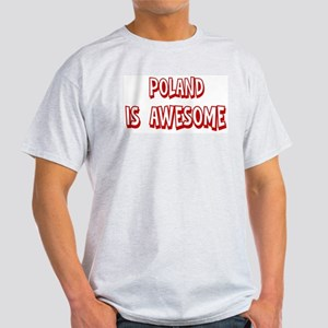 Poland is awesome Light T-Shirt
