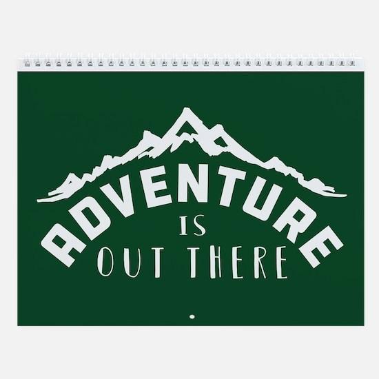 Outdoor Adventure Wall Calendar