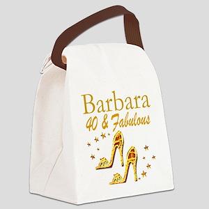 40TH PRIMA DONNA Canvas Lunch Bag
